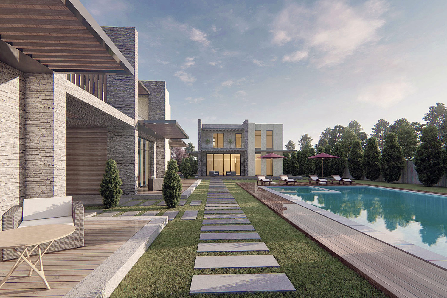 Seymen Twin Villas Project